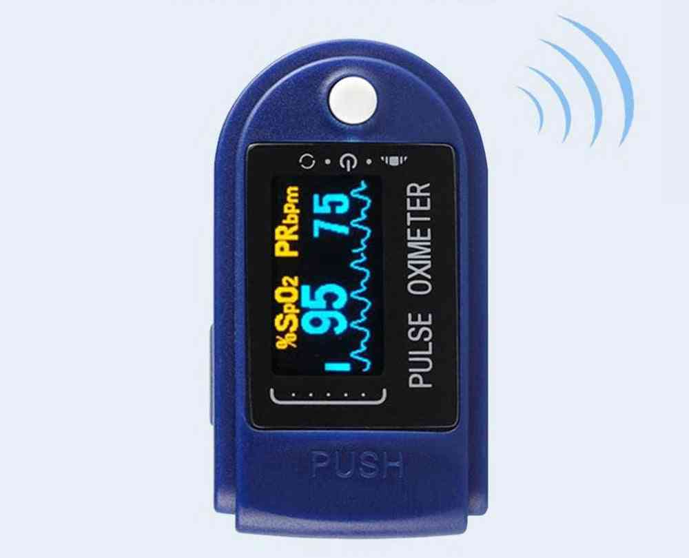 Portable Fingertip Pulse Oximeter, Home Blood Oxygen Saturation Monitor, Low Power Consumption Automatic Standby Or Sleep