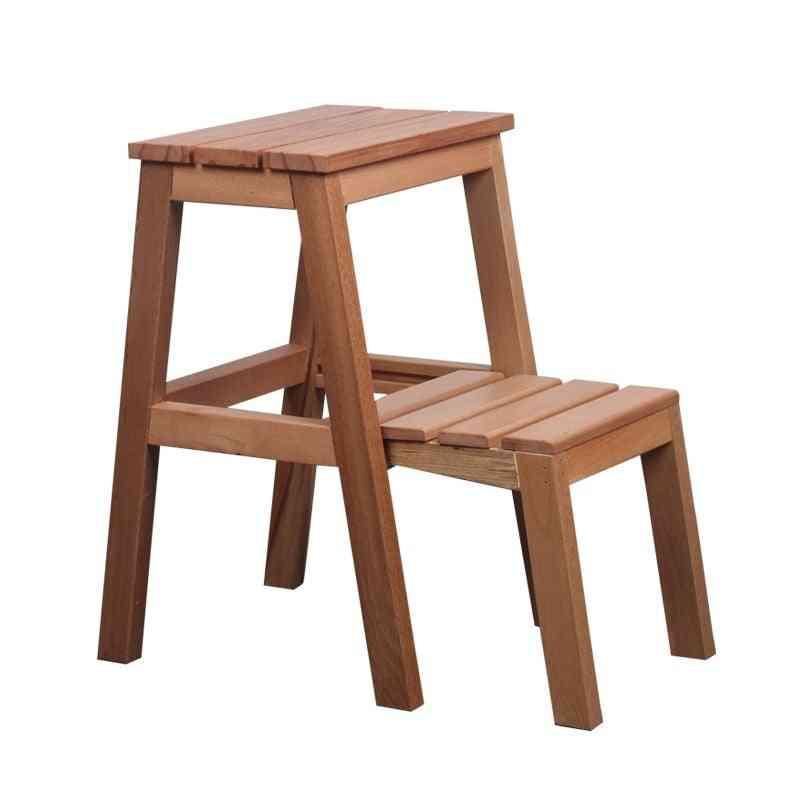 Dual Output Wooden Ladder