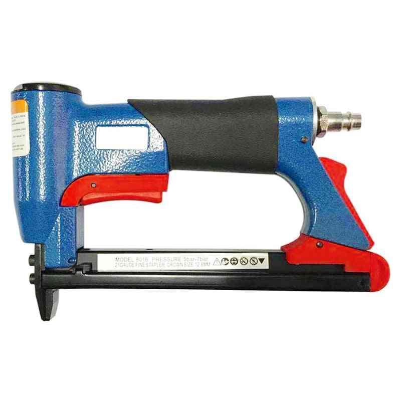 Pneumatic Air Stapler Nailer, Fine Tool For Furniture