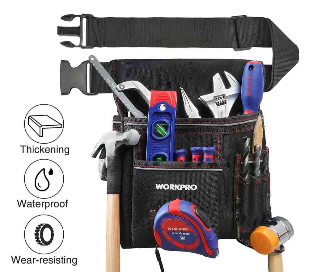 Heavy Duty Tool Pouch With Adjustable Belt