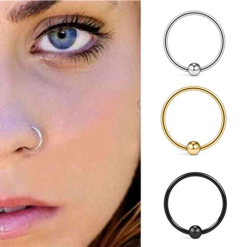 925 Sterling Silver, Nose Ring