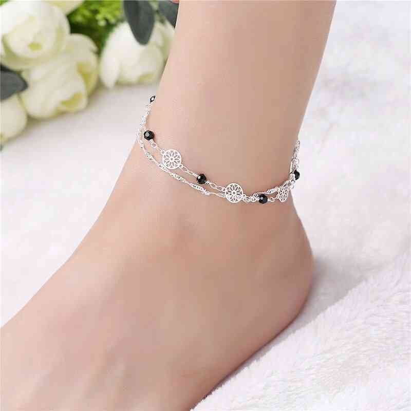 Bohemian Chain Beads Anklet Beach Bracelet Diy Foot Jewelry