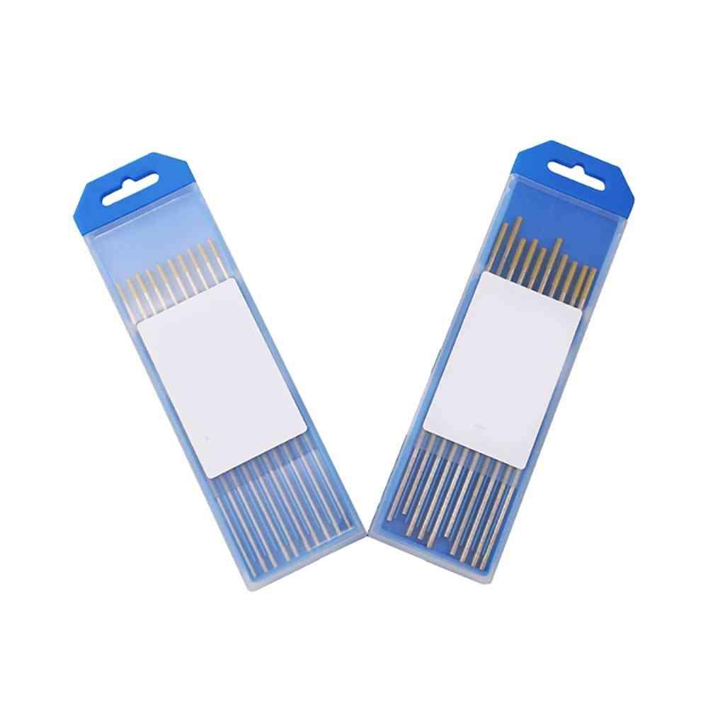Argon Arc Welding Lanthanum Tungsten Electrode Gold Head Welding Soldering
