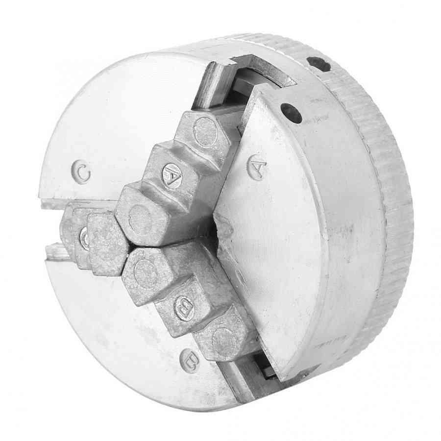 Mini Drill Chuck Zinc Alloy Manual Self-centering Metal With Lathe Machine Tool