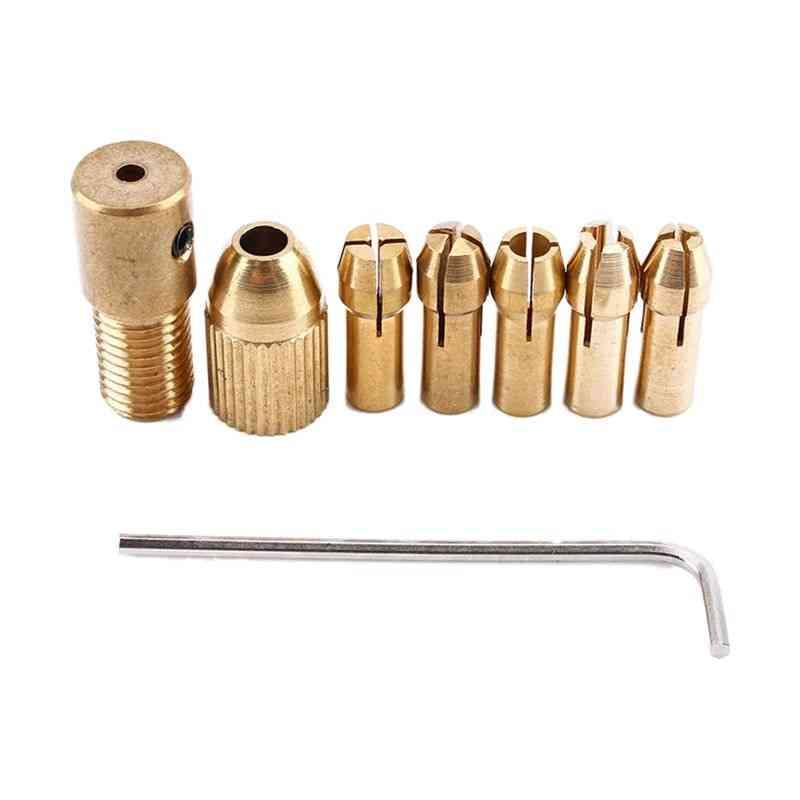 Drill Chuck Collets Set Of Quick Chuck For Mini Tools