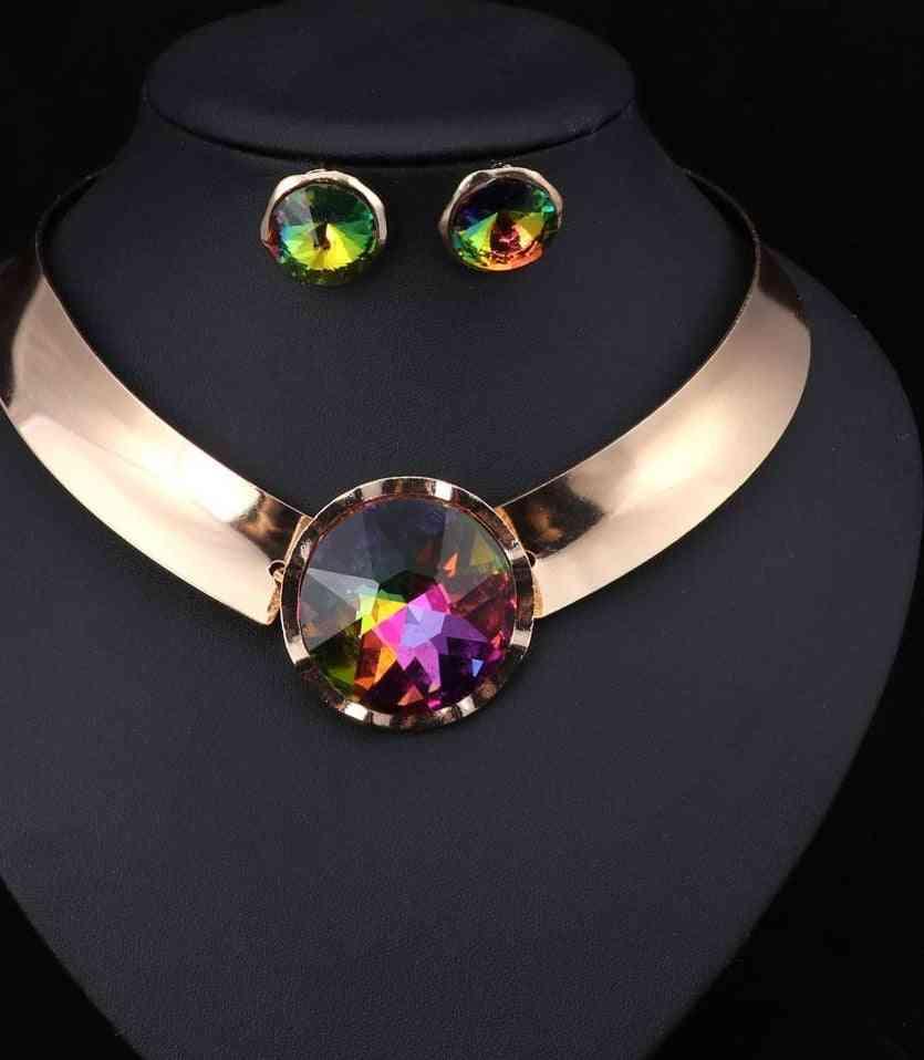 Women Necklace & Earrings Jewelry Sets