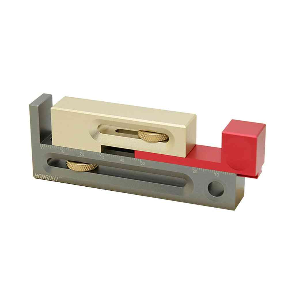 Regulator With Box Push Table Saw Slot Adjuster Movable Measuring Woodworking Tools
