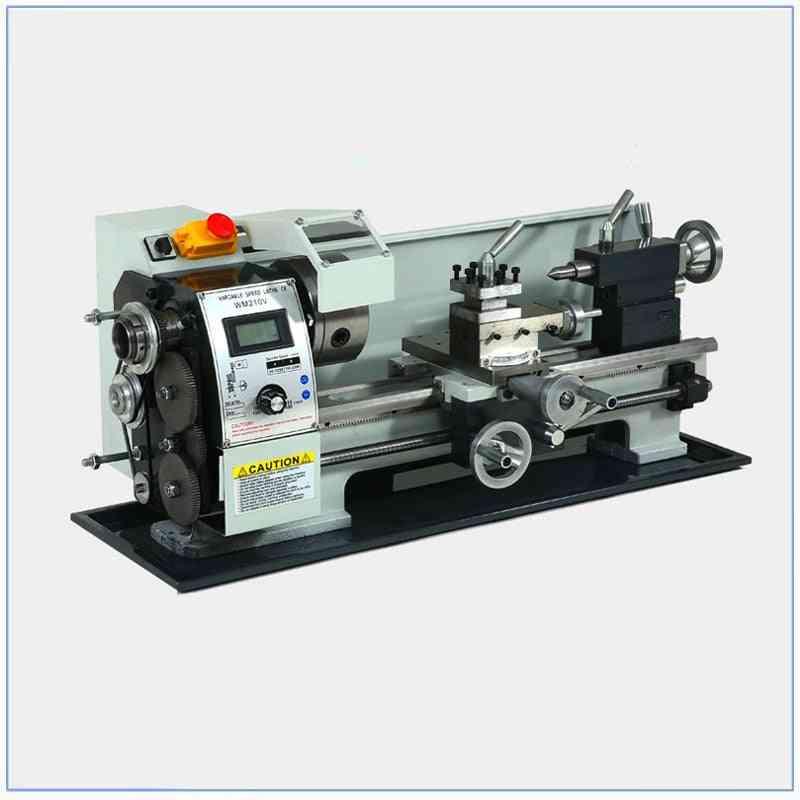 850w Mini Spindle Lathe Digital Display Brushless Motor