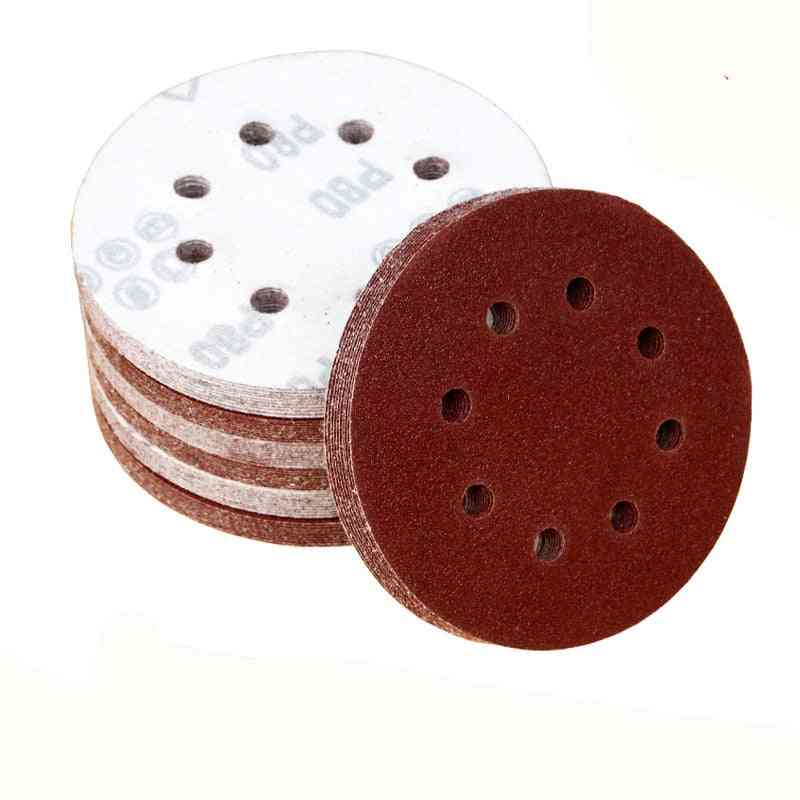 Round Sandpaper Eight Hole Sand Sheets