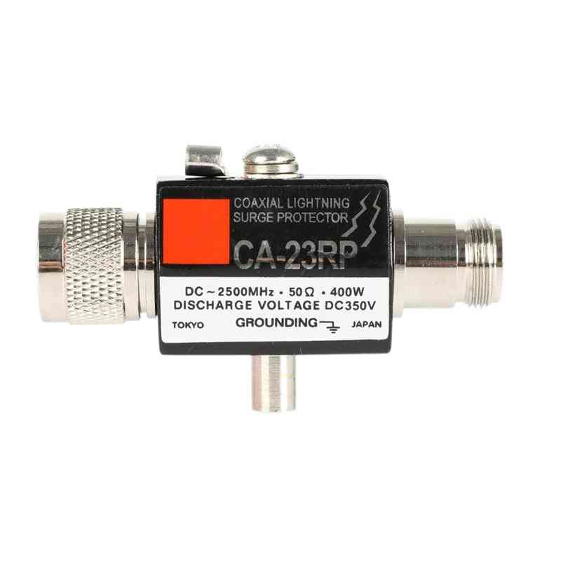 Ca-23rs N Male To N Female Arrester Diamond Coaxial Surge Protector For Outdoor Antenna