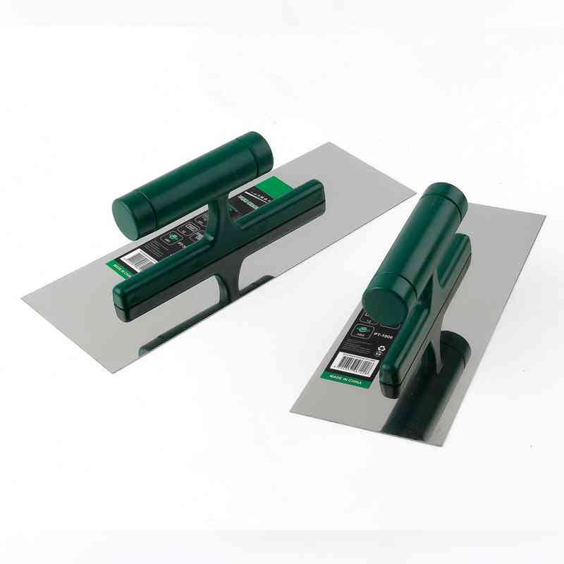 Professional Bricklaying Trowel Cement Scraper, Mud Board Construction, Plastering Tool