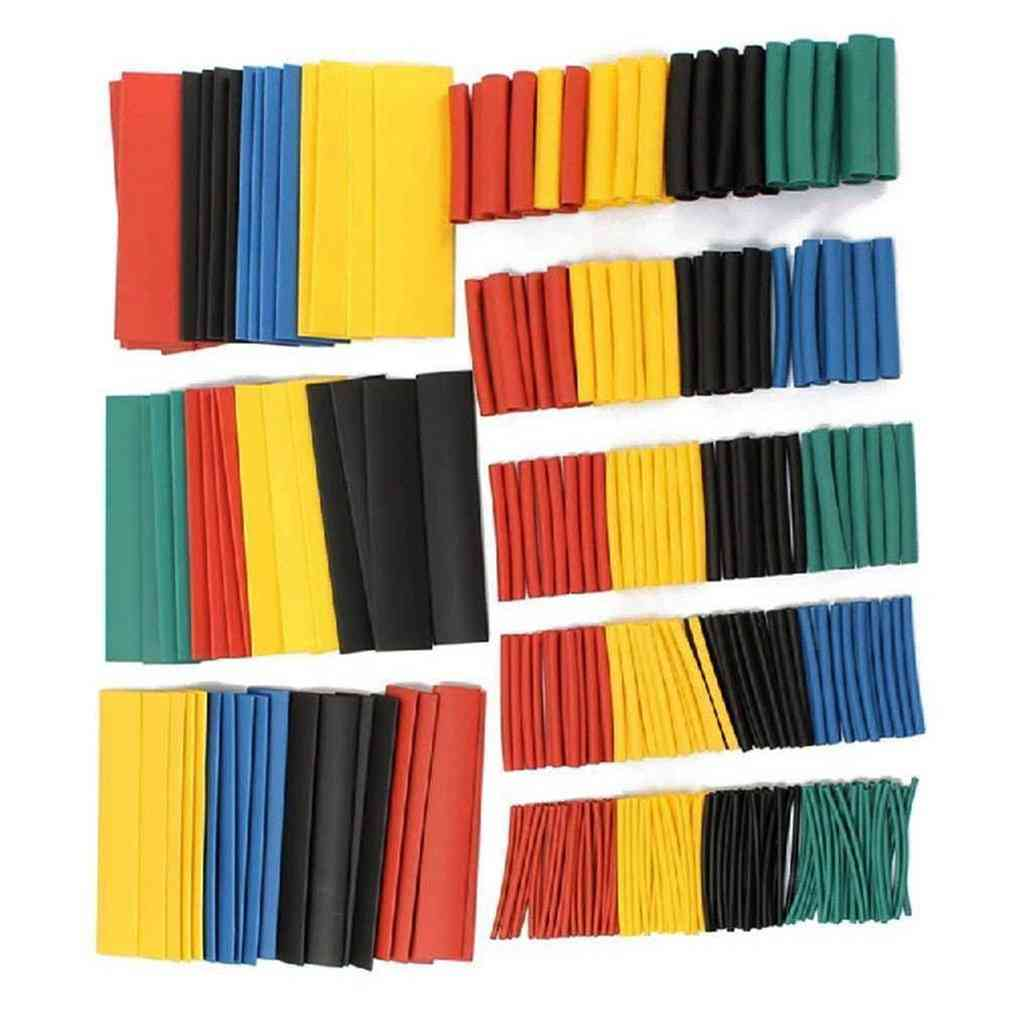 Polyolefin Insulation Heat Shrink Tubing, Sleeve Wrap Wire Assortment Shrinkable Set