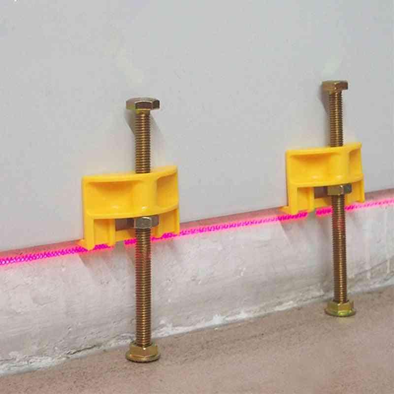 Manual Locator Wall Tiles Regulator, Height Adjustment Positioner Leveler