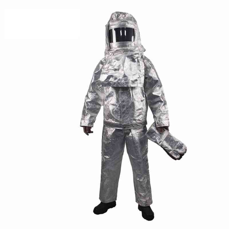Heat Insulation Multifunction Fire Resistant Clothing, Industrial Proximity Suit