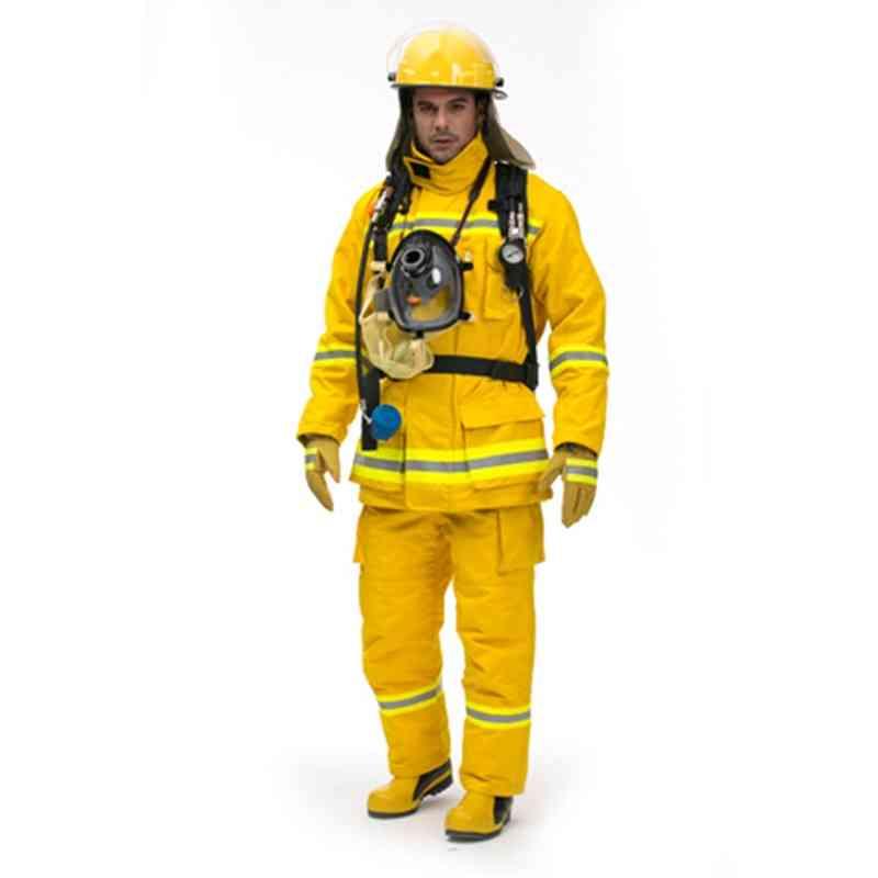Nfpa 1971 Fire Fighting Suit, Usa  Jacket & Bib Trousers