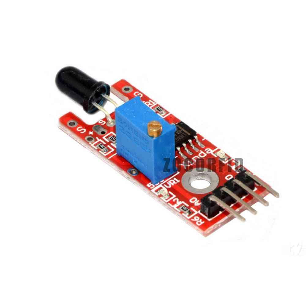 Flame Sensor Module - Ir Detector For Temperature