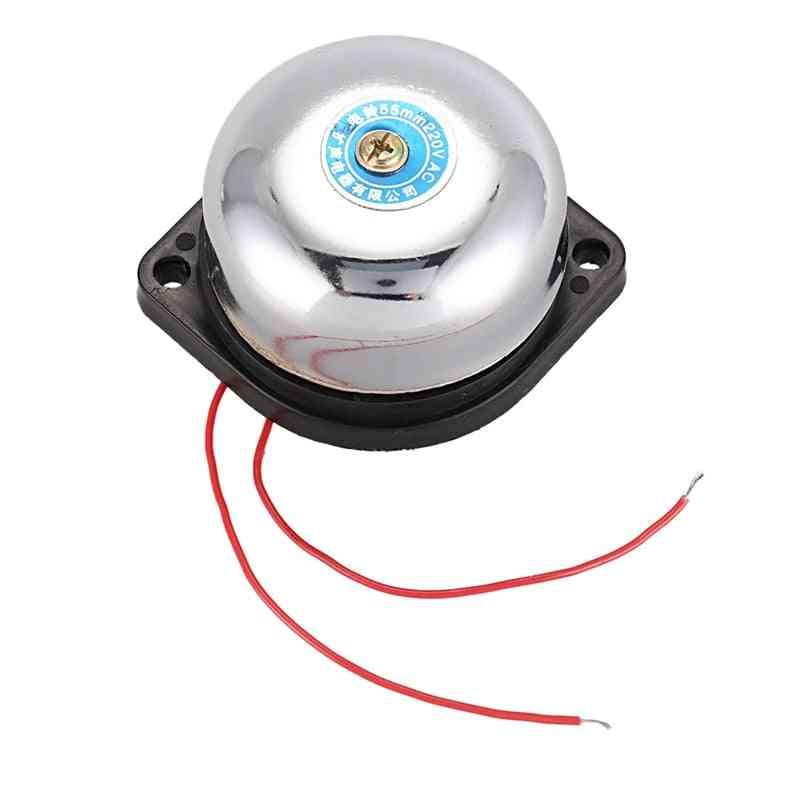 Diameter Fire Alarm Electric Gong Bell