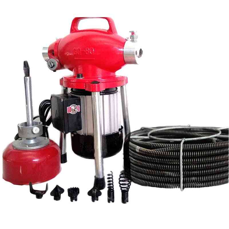 Automatic Dredge Machine, Electric Pipe Dredging Sewer, Toilet Blockage Drain Cleaning Tool