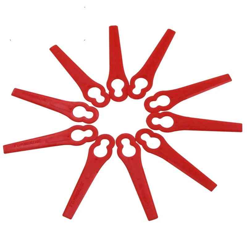 Replacement Plastic Cutter Blades For Florabest Grass Trimmer Brushcutter