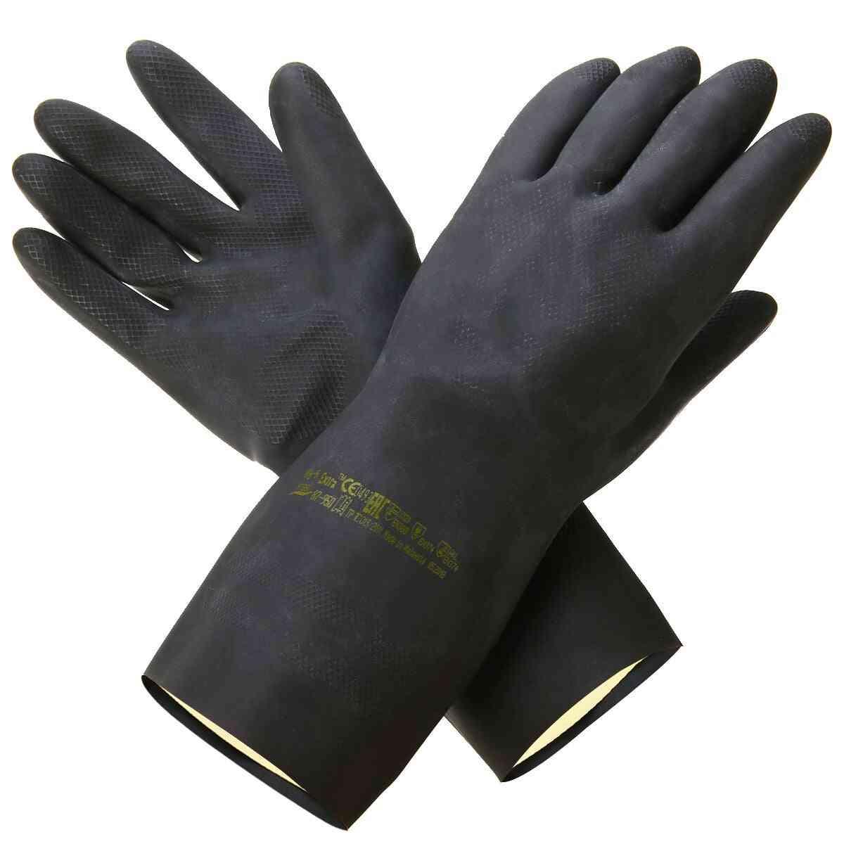 Mayitr Heavy Duty Natural Rubber Garden Gloves