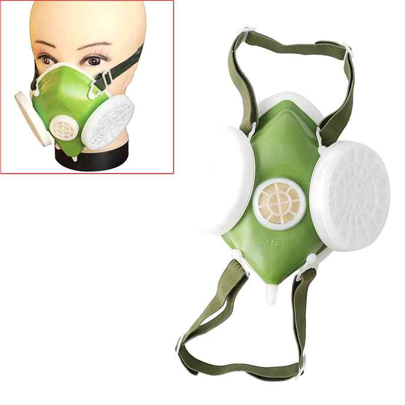 Dual Anti-dust Gas Respirator /spraying Protective Chemical Spray Paint Safety Mask