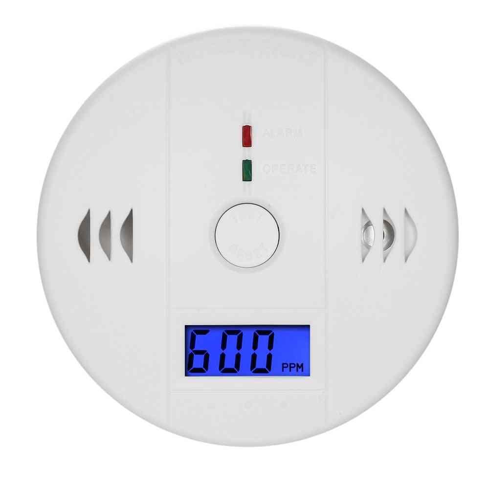 Carbon Monoxide Detector, Gas Sensor Lcd Display Warning Alarm