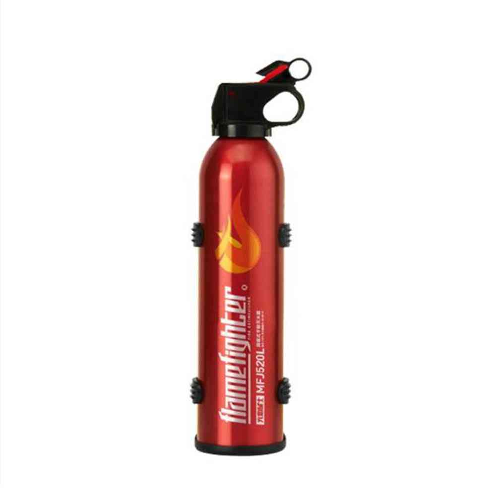 Portable Car Fire Extinguisher With Hook Dry Chemical Fire, Safety Flame Fighter