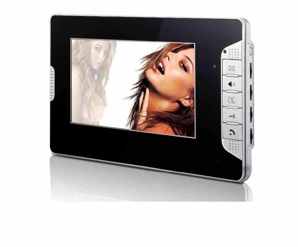 Indoor Monitor For Video Doorbell Unlock Intercom System High Resolution Doorphone