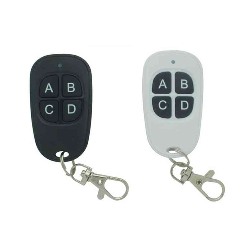4 Buttons Garage Door Remote Control-rolling Fixed Code Key