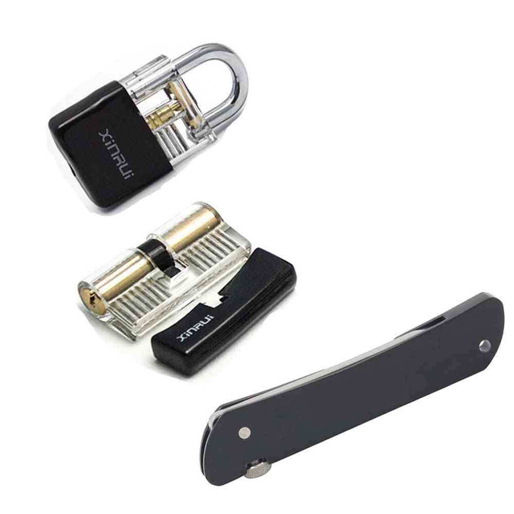 Lock With Black Cover 6 In 1 Tool Set Training