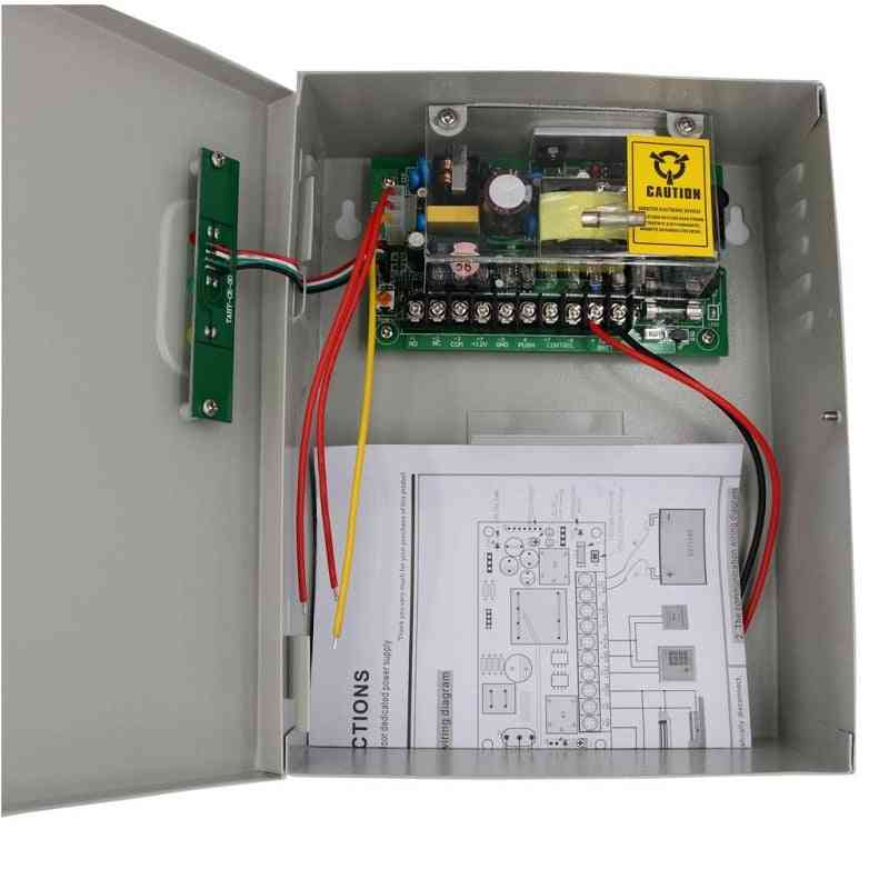 Universal Power Supply, Door Access Control System, Backup Battery Interface