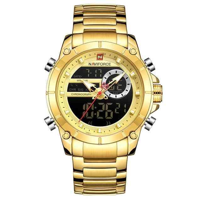 Relogio Masculino Military Quartz Mens Watches, Waterproof Sports Wrist Watch