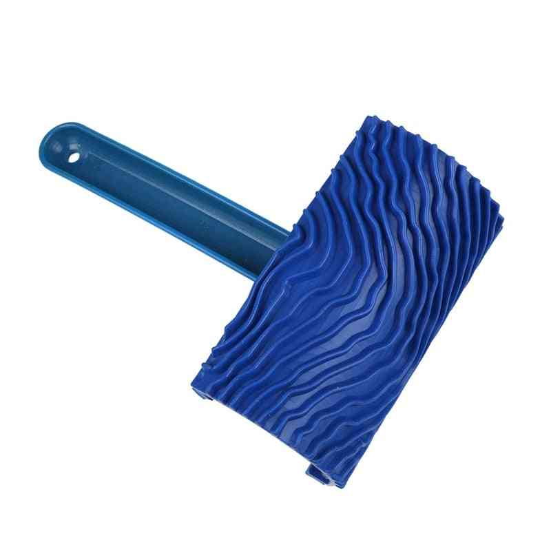 Wood Pattern Rubber Diy With Handle Grain Brush Paint Tool