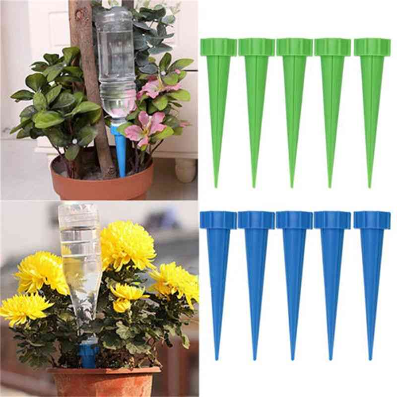 Plant Flower Irrigation System, Watering Cones, Cleaning Garden Tools
