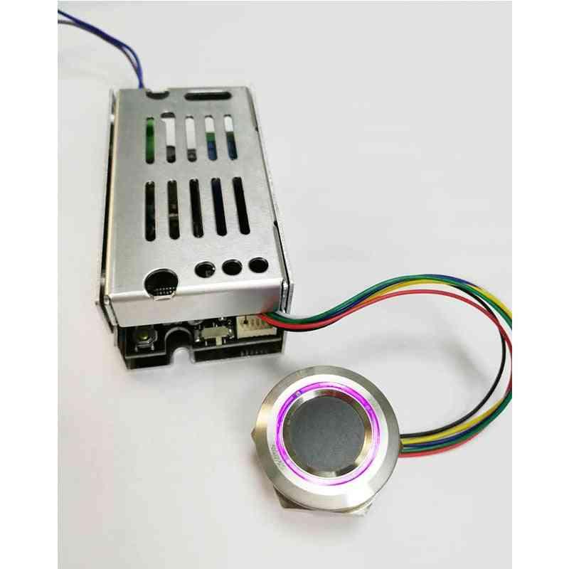 K215-v1.3+r503 Normally Open Relay Function Fingerprint Control Board For Motorcycle Car Door Lock