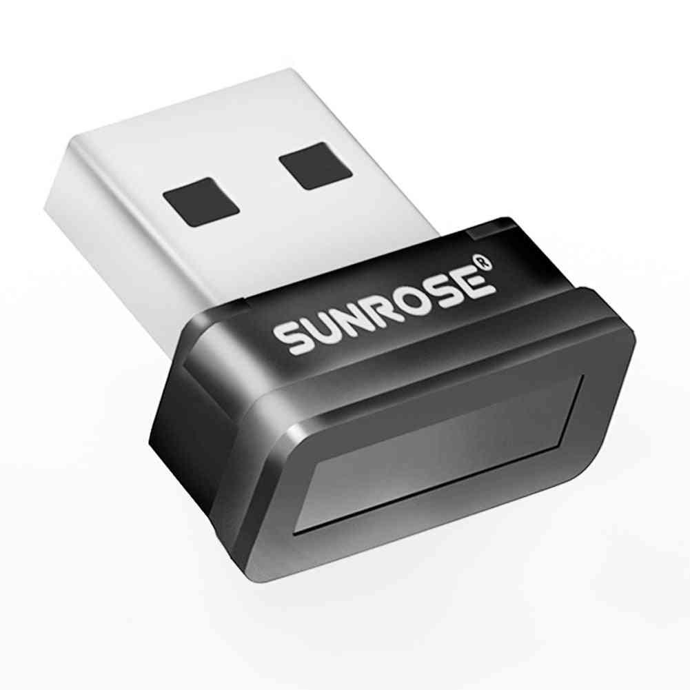 Woopower Security Key Reader, Laptop Office Pc Sensor Mini Fingerprint Scanner