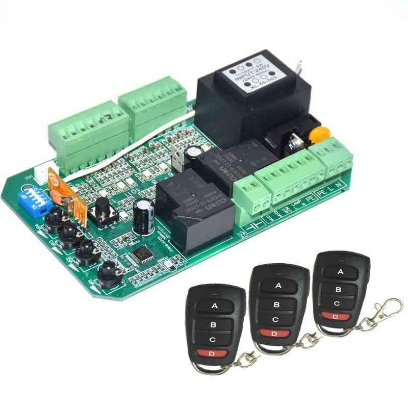 Sliding Gate Opener, Motor Control Unit Pcb Controller Circuit Board