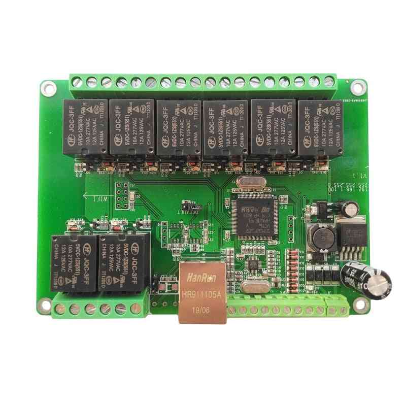 Ethernet Relay Network Wifi Switch -  Can Rs485 Coap Domoticz Timer Module