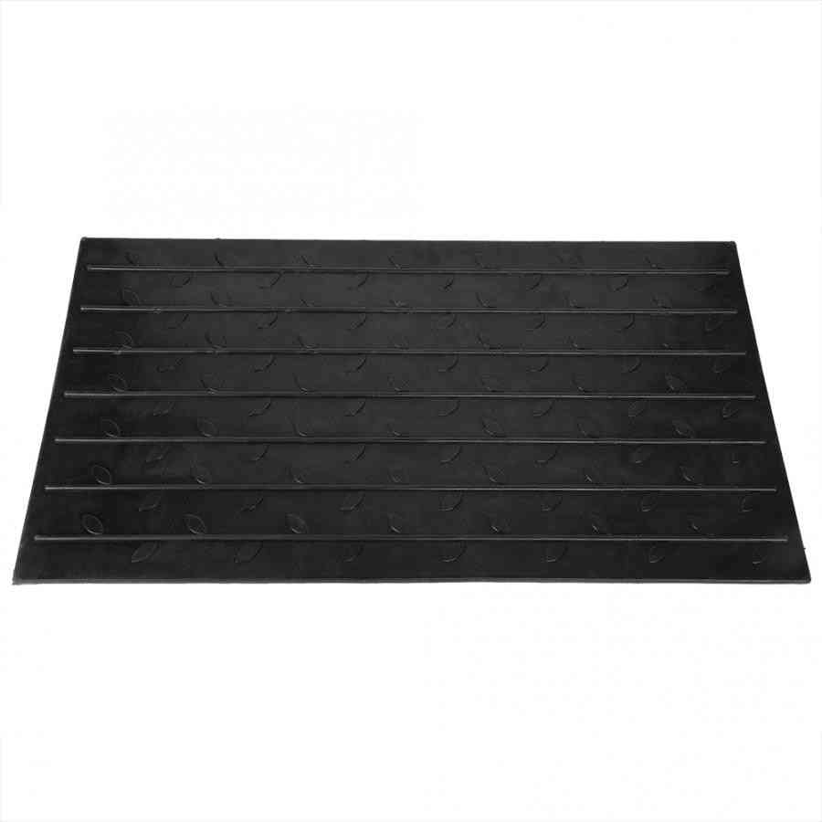 Anti-slip Rubber Curb, Threshold Ramp With 3 Channels