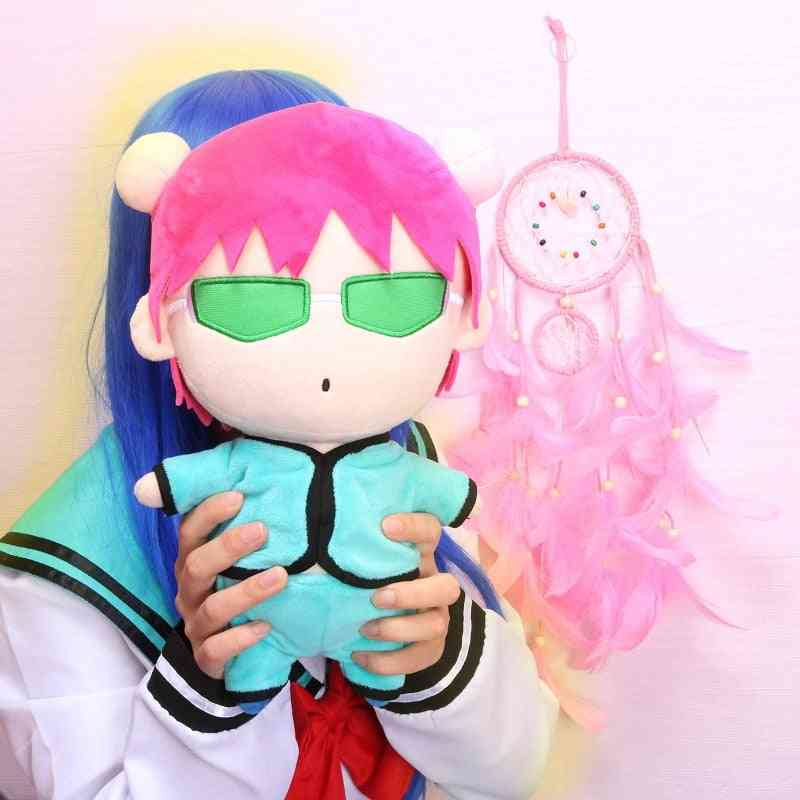 Anime Saiki Plush Doll Toy, Cute Cosplay