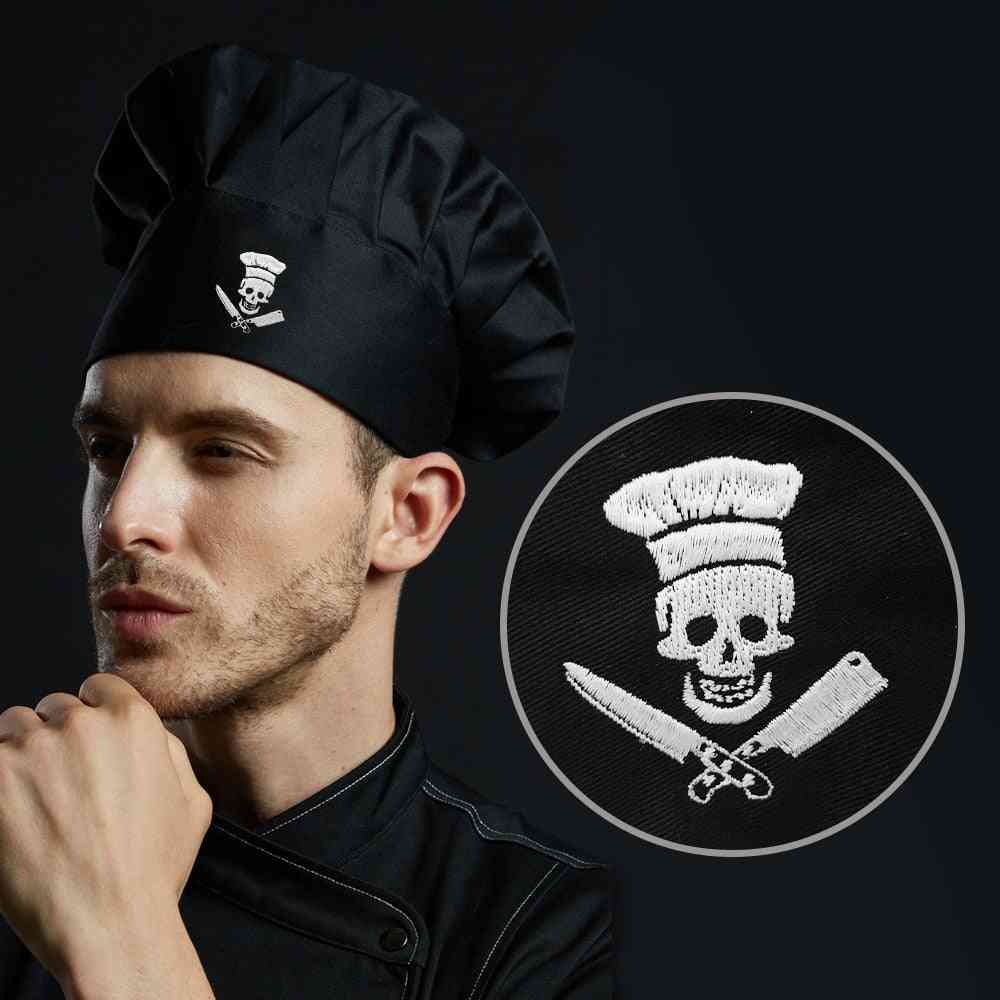 Embroidered Design Cooking Bakery Bbq Grill Restaurant Cook Work Hat