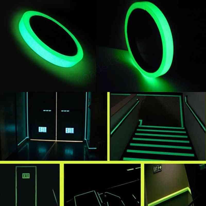 Sensitive Adhesive, Glow In Dark Tape