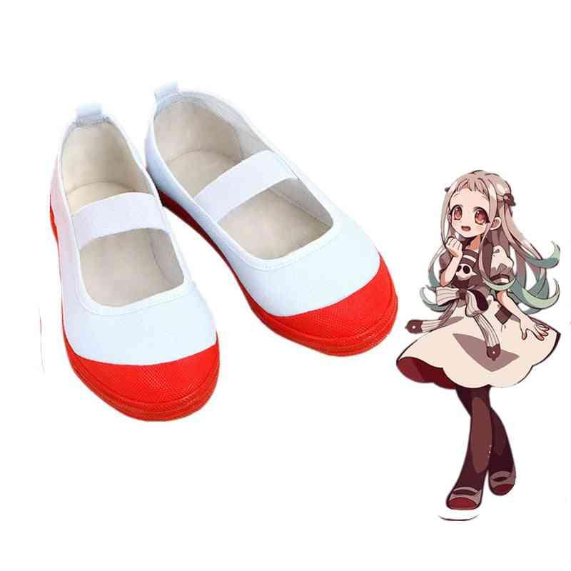 Cosplay Shoes Women Sport Anime Toilet-bound School Girl Dancing
