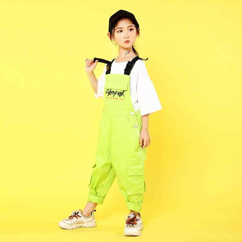 Kids Hip-hop Costumes Casual T-shirt, Tops/pants-boys Ballroom Dancing Clothes