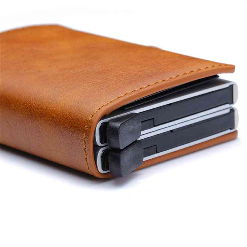 Unisex Metal Blocking , Business/credit Card/id Card Holder Wallet