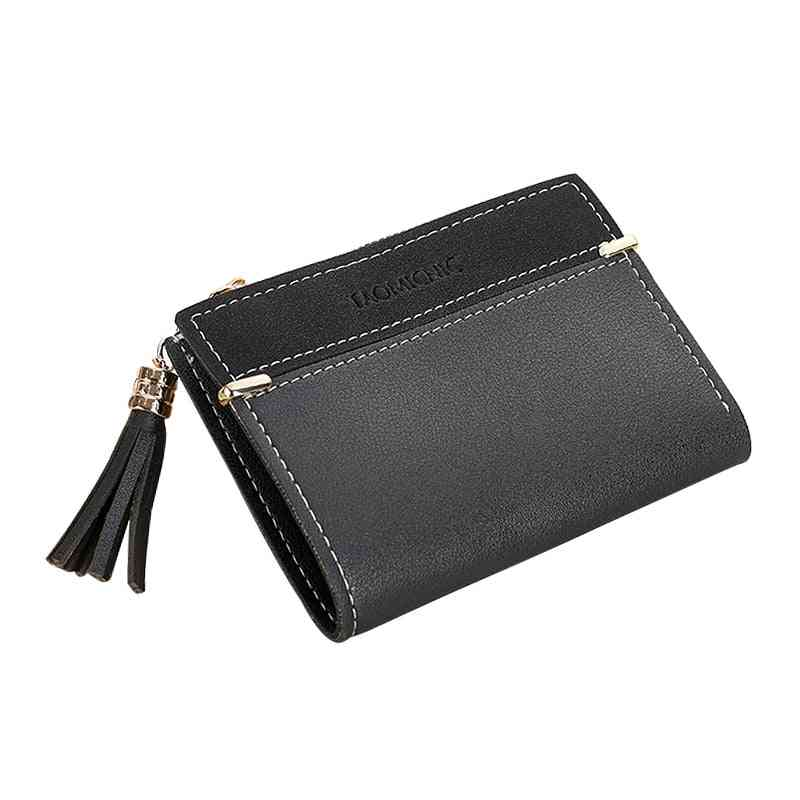 Women's Short Coin Purse, Fashion Wallets Card Holder