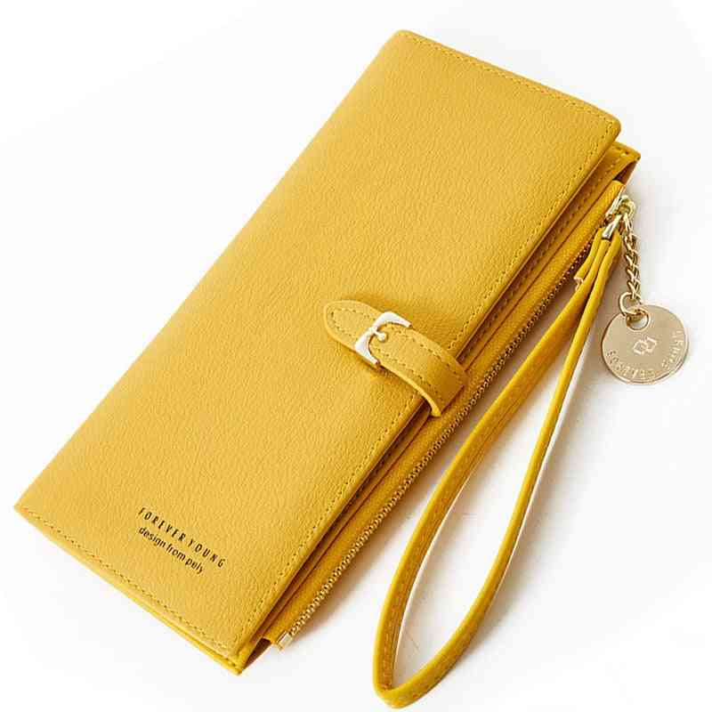 Women Wallets Clutch Purse Zipper Phone Pocket Card Holder