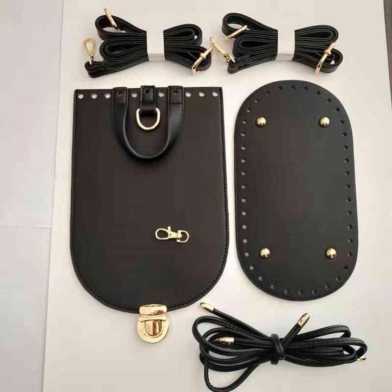 Handmade Handbag Shoulder Strap, Woven Bag Set