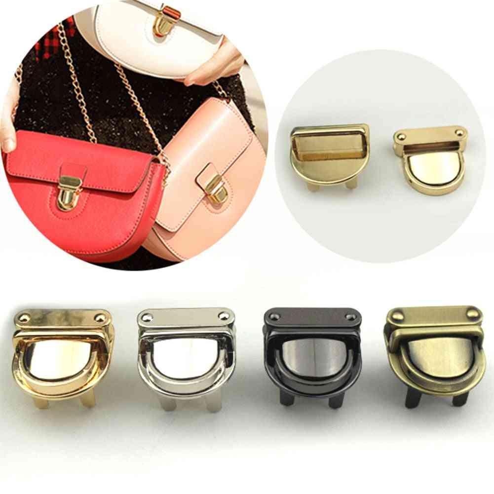 Durable Clasp Turn Twist Lock For Diy Handbag/purse