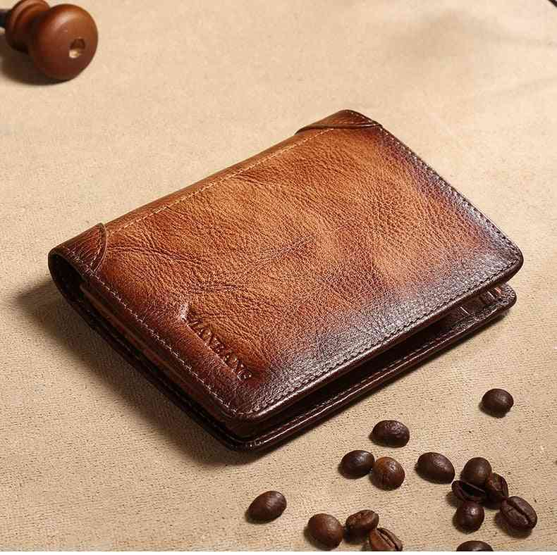 Male Genuine Leather Wallets, Credit/business Card Holders